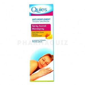 Quies Anti-Ronflement spray buccal 70 ml Miel-Citron