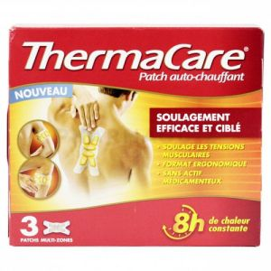 Thermacare Patch auto-chauffant multi-zones x 3