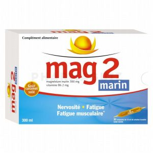Mag 2 Marin 30 ampoules buvables