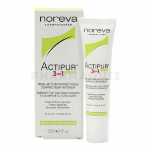 Noreva Actipur 3 en 1 soin anti-imperfections 30 ml