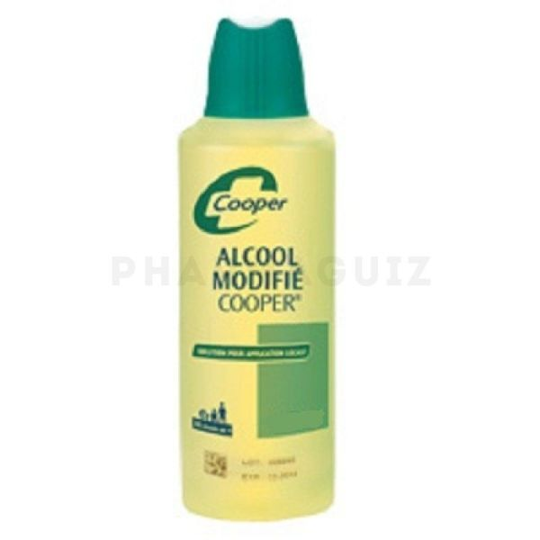 ALCOOL MODIFIE 125 ML COOPER