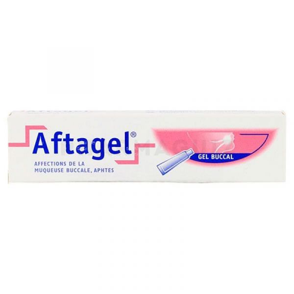 Aftagel gel buccal 15 ml